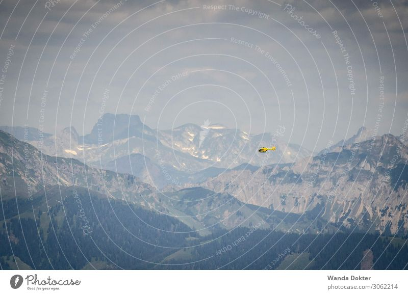 Mountain Yellow Movement Health care Work and employment Flying Horizon Free Technology Power Success Adventure Speed Help Protection Safety