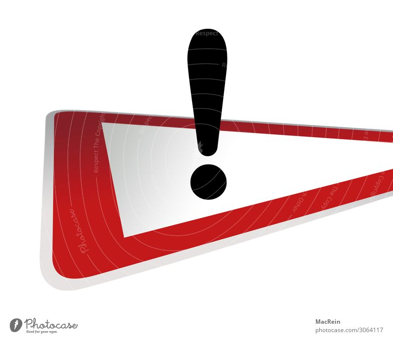 Traffic sign Attention Transport Road traffic Road sign Sign Red Watchfulness Arrangement Bans Exclamation mark Triangle Slowly Caution Signage