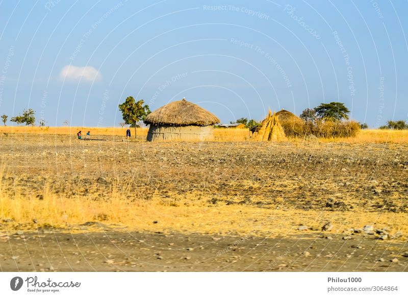 Traditional tribal hut of Kenya people. . Nature House (Residential Structure) Poverty Hut