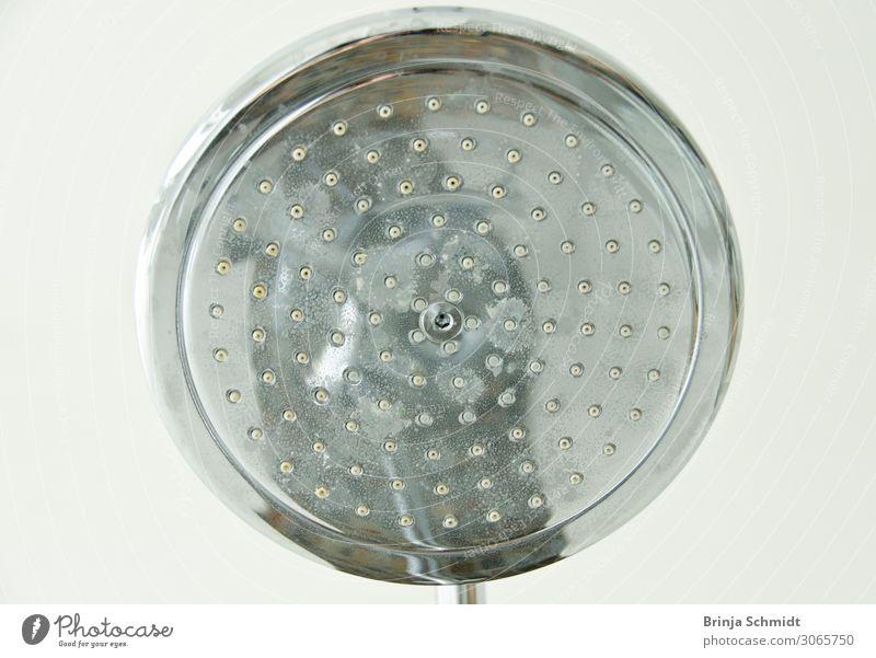 Shower head seen from below - water march! Plate Luxury Elegant Style Design Money Wellness Arrange Interior design Bathroom Shower (Installation)