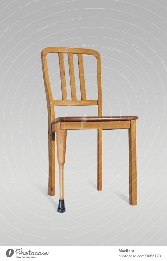 Second class chair Healthy Health care Medical treatment Chair Services Wood Sign Inequity Symbols and metaphors Chair leg Prop Sit Patient Waiting room