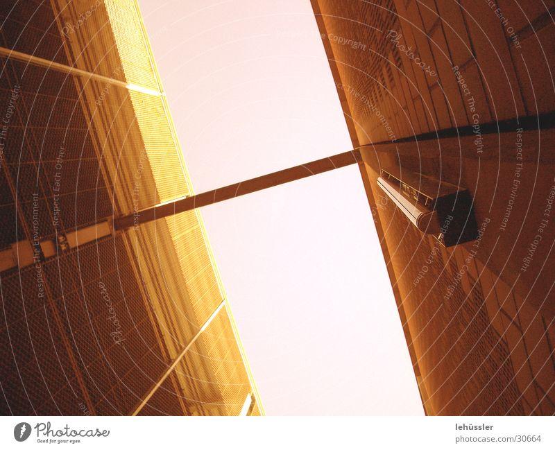 Sky Metal Architecture Concrete Roof Construction Parking garage