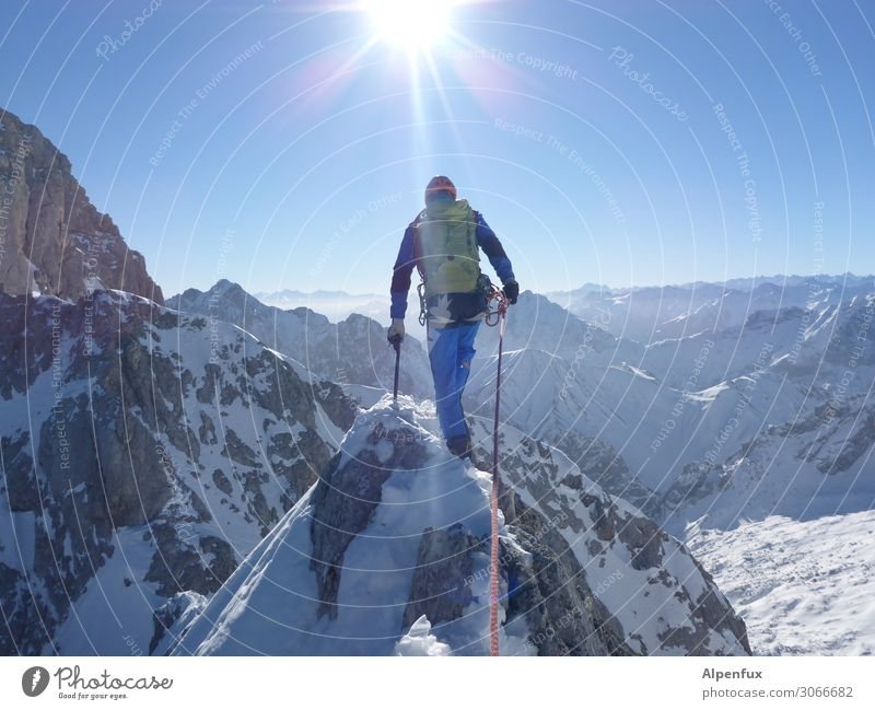Loneliness Winter Mountain Lanes & trails Snow Friendship Contentment Hiking Fear Power Success Adventure Threat Safety Attachment Fear of heights