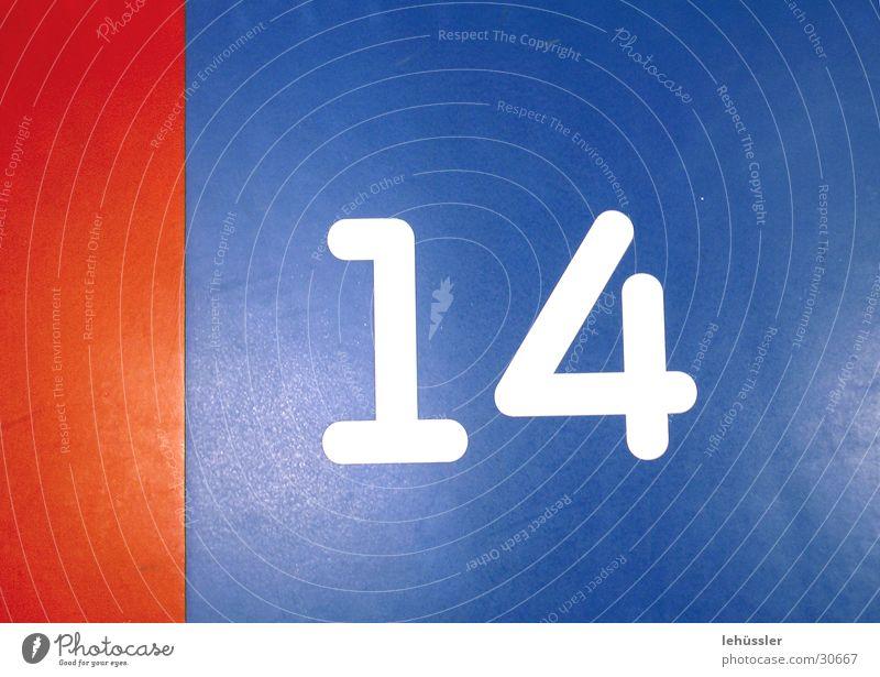 Blue White Red Floor covering Divide 14