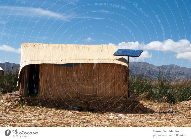 Uros Floating Island, Lake Titicaca, Puno Region, Peru House (Residential Structure) Nature Landscape Plant Coast Village Hut Tourist Attraction Tradition
