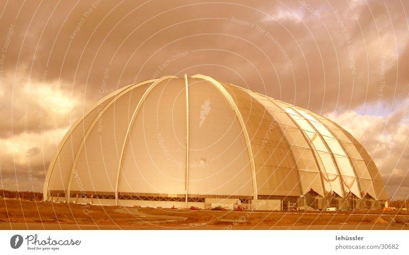 Clouds Colour Building Architecture Horizon Parking lot Construction Packing film Cargo