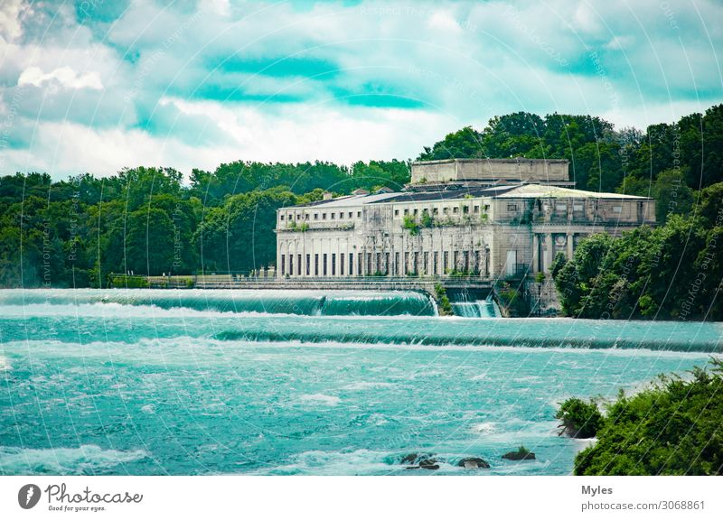 Niagara Falls Building Environment Landscape Park Forest Virgin forest Rock Waves Coast Lakeside River bank Beach Bay Island Waterfall Factory Ruin
