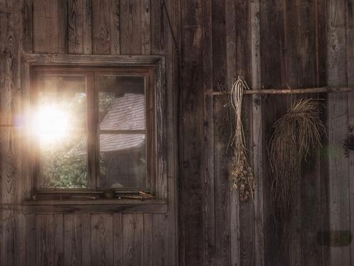 twilight years Nature Elements Sun Sunrise Sunset Sunlight Hut Building Window Old Modest Hope Humble Agriculture Survive Rural Country life Seed Dry