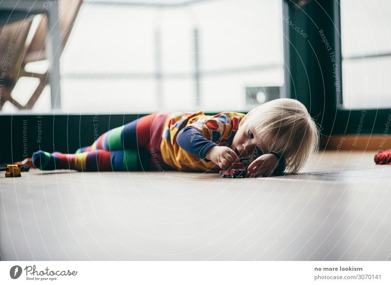 call it a day Leisure and hobbies Playing Child Toddler Family & Relations Infancy Life Work and employment Think Discover Relaxation Lie Dream Blonde Cute