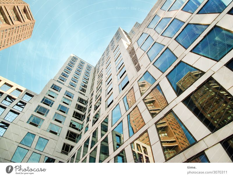 Sky House (Residential Structure) Window Architecture Life Wall (building) Building Wall (barrier) Exceptional Together Facade Design High-rise Elegant Esthetic