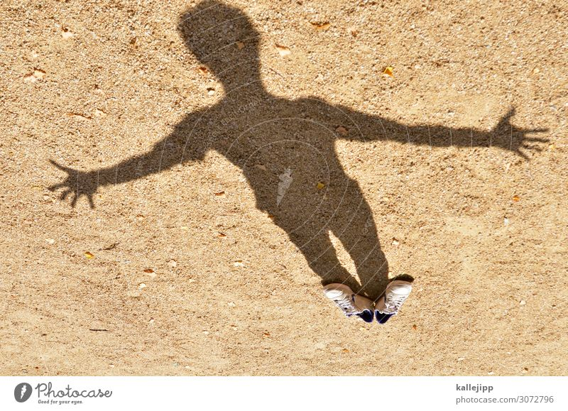 shadowy existence Human being Masculine Body 1 Art Brown Shadow play Footwear Sneakers Invisible Banner Camouflage Jesus Christ Religion and faith Christianity