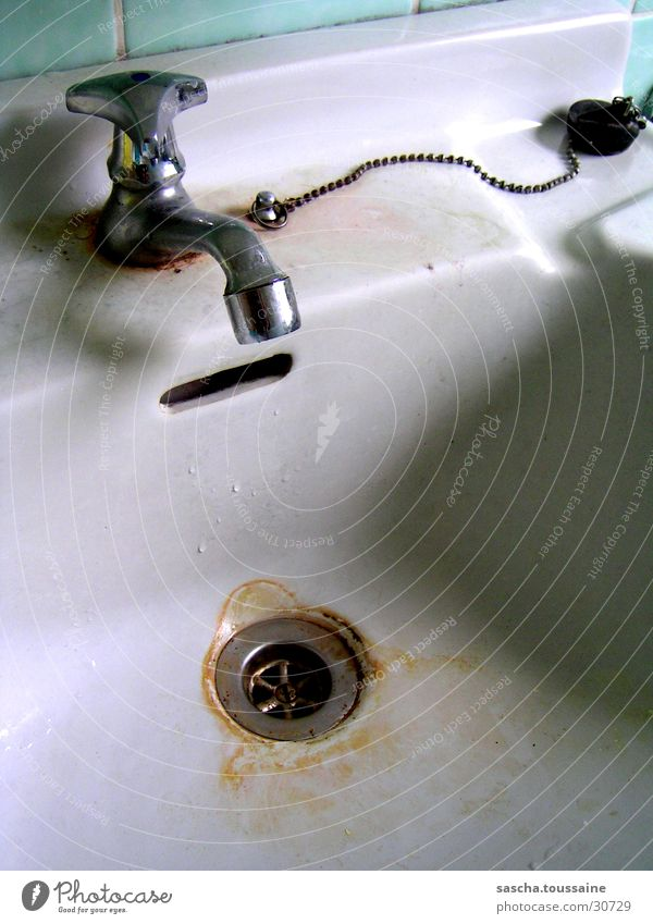Water Cold Dirty Kitchen Drainage Tap Sink Lime