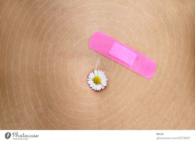 Skin thing l plaster or flower, which heals faster? Healthy Alternative medicine Nursing Illness Wellness Life Harmonious Well-being Contentment Senses