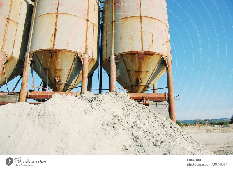 sandy Gravel pit Sand Materials handling quarry Containers and vessels Industry Industrial plant conveyor Construction site Machinery Equipment screening plant