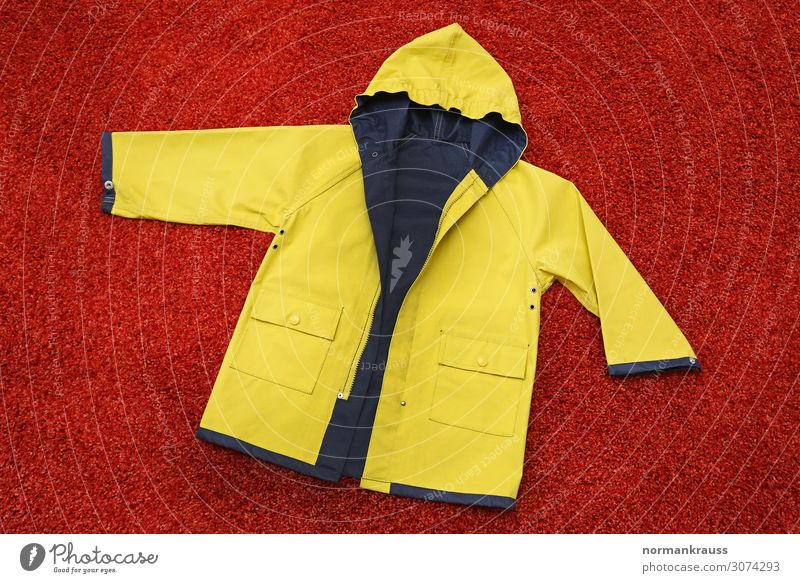 Rain jacket, Frisian mink Clothing Protective clothing Jacket Hooded (clothing) Simple Historic Kitsch Nerdy Trashy Blue Yellow Red Tradition Weather protection