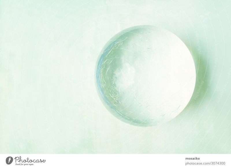 glass ball on stone background Beautiful Relaxation Calm Healthy Lifestyle Health care Design Contentment Decoration Body Elegant Glass Idyll