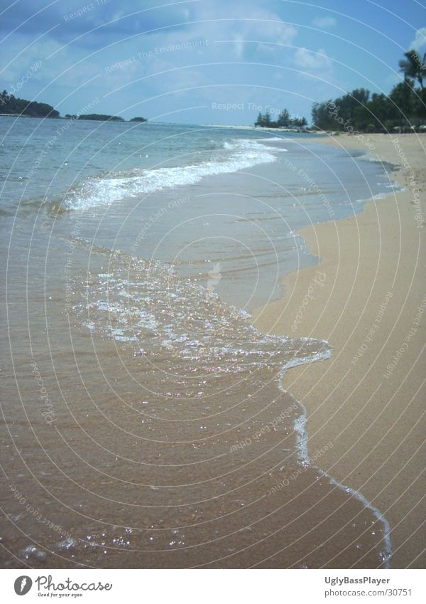 Thailand Ocean Waves Water Coast Sand