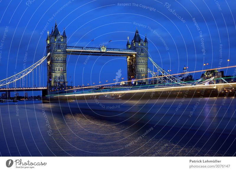 Blue London Vacation & Travel Tourism Sightseeing City trip Services Environment Nature Landscape Elements Water Sky River Themse Great Britain England Europe