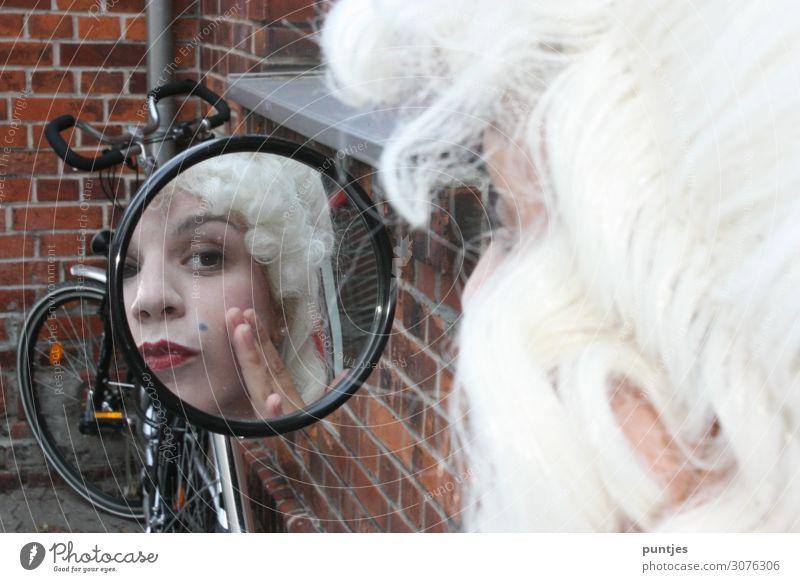 Baroque in the mirror Beautiful Personal hygiene Skin Face Manicure Pedicure Cosmetics Perfume Cream Make-up Lipstick Nail polish Mascara Rouge Feminine Woman