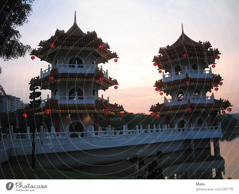 Garden Building Success China Singapore Pavilion Chinese Garden