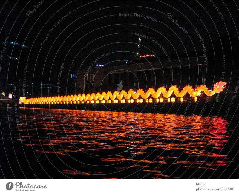 more singaporous Singapore Night Success river Dragon Lighting