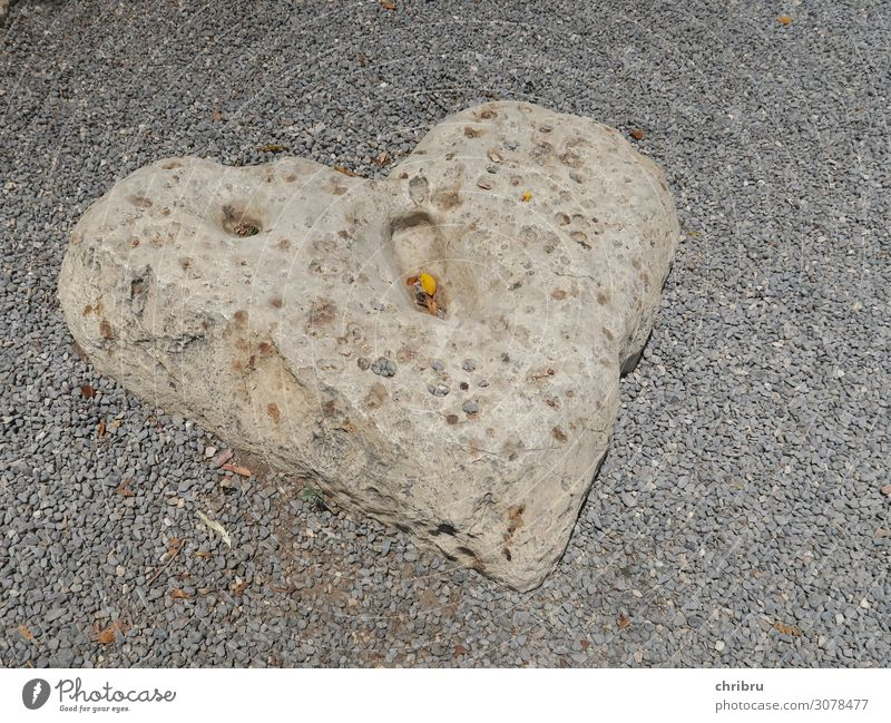Heart of stone Stone Love Gray Tabgha Matrimony Subdued colour Exterior shot
