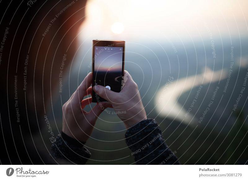 #A2# Keeping the Moment Art Esthetic Horizon Vantage point Cellphone Cellphone camera Snapshot Sunrise Colour photo Multicoloured Exterior shot Detail