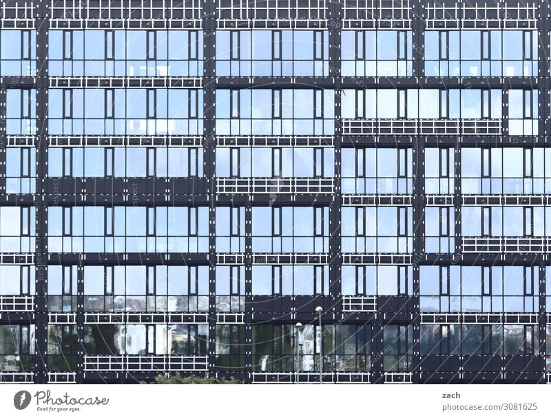 tetris Town Capital city Downtown High-rise Bank building Industrial plant Manmade structures Facade Window Glas facade Line Blue Gray Subdued colour