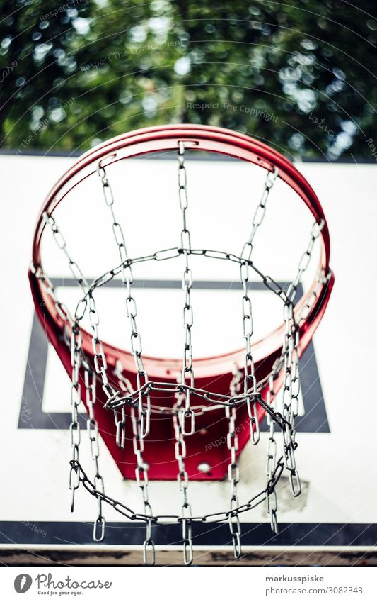 Street Basketball Basket Lifestyle Joy Happy Athletic Fitness Leisure and hobbies Playing Summer Sports Sportsperson Success Loser Basketball basket