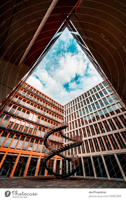 The infinite staircase in Munich Vacation & Travel Tourism Trip Sightseeing City trip Manmade structures Building Architecture Tourist Attraction Landmark