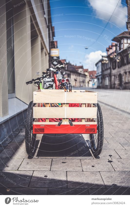 Bicycle trailer Shopping Driving Joie de vivre (Vitality) Ease Sustainability Environmental protection Other Keywords bicycle bike Cargo cargo bike trailers