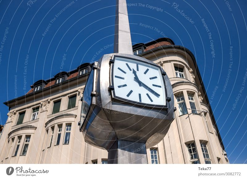 The clock Summer Technology Science & Research Advancement Future High-tech Esthetic Clock Time Colour photo Exterior shot