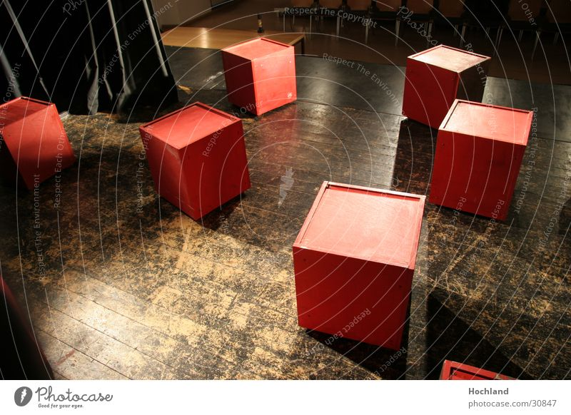 Stage construction 1 Light Distributed Concert Music Cube stage boards Shadow ceded ground