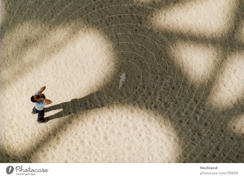Man Sand Architecture Back Paris France Photographer