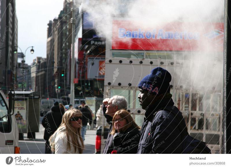 New York 5 Street Black Cap Characteristic Group Smoke USA
