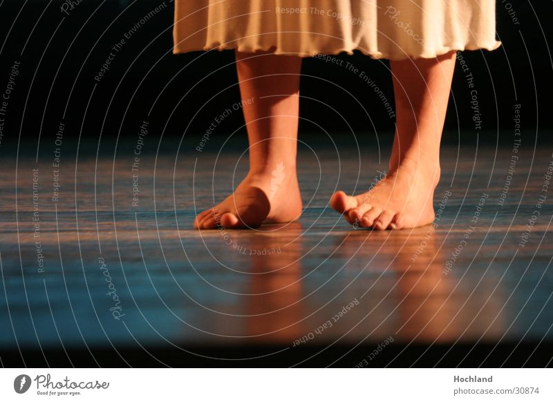 Theatre 2 Floor Dress Toes Light Concert Music Stage play that Graffiti by wasteland Horvath Feet Floor covering stage boards Barefoot