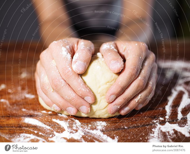 knead dough Food Dough Baked goods Cake Dessert Candy Nutrition To have a coffee Picnic Lifestyle Design Leisure and hobbies Baking Kitchen Fragrance Shopping