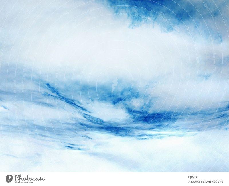 Blue cloudy sky Sky Woleken