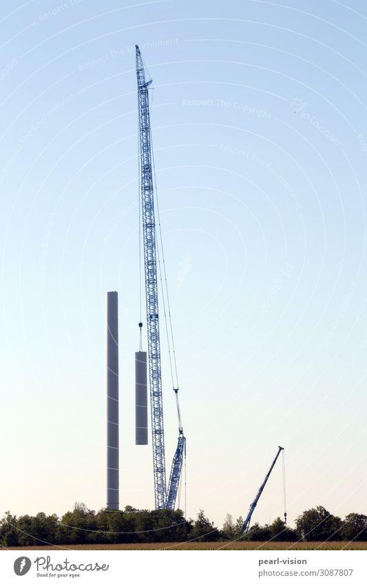 Technology Large Energy Tall Wind energy plant Build Crane