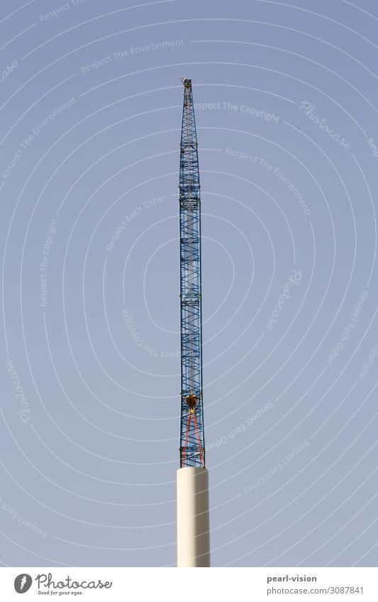 Technology Large Energy Tall Wind energy plant Build Crane Renewable energy