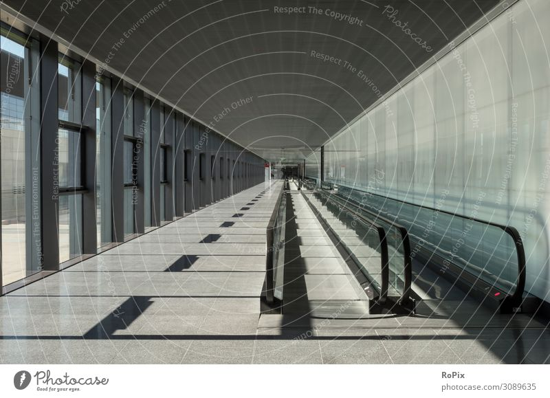 Escalator walkway in a modern building. Lifestyle Design Vacation & Travel Tourism Trip Sightseeing City trip Work and employment Profession Office work