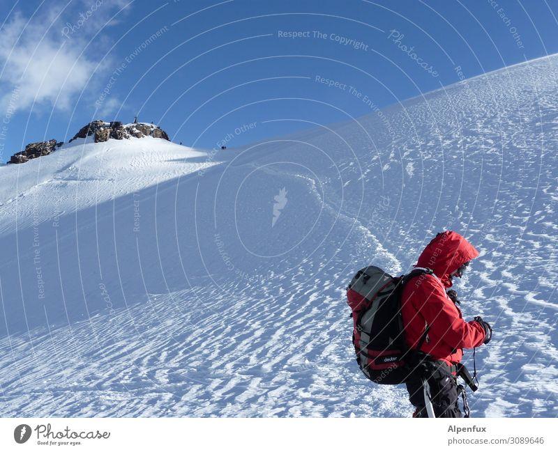 valuable | Glacier Climate Climate change Rock Alps Mountain Monte Rosa Peak Snowcapped peak Joy Joie de vivre (Vitality) Enthusiasm Self-confident Cool (slang)
