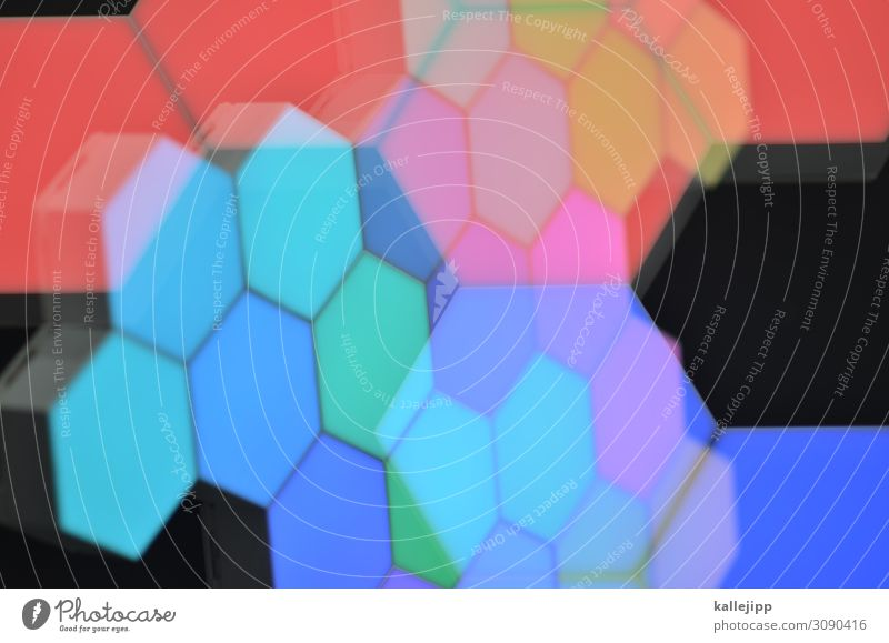 Background picture Art Illuminate Modern Technology Telecommunications Future Internet Information Technology Hip & trendy Science & Research Interlaced Disco