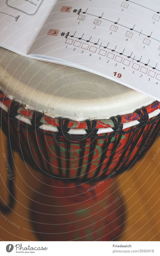 Learn Djembe Leisure and hobbies Music Musical notes Touch Movement Relaxation To enjoy Listening Study Listen to music Playing Free Happiness Happy Curiosity