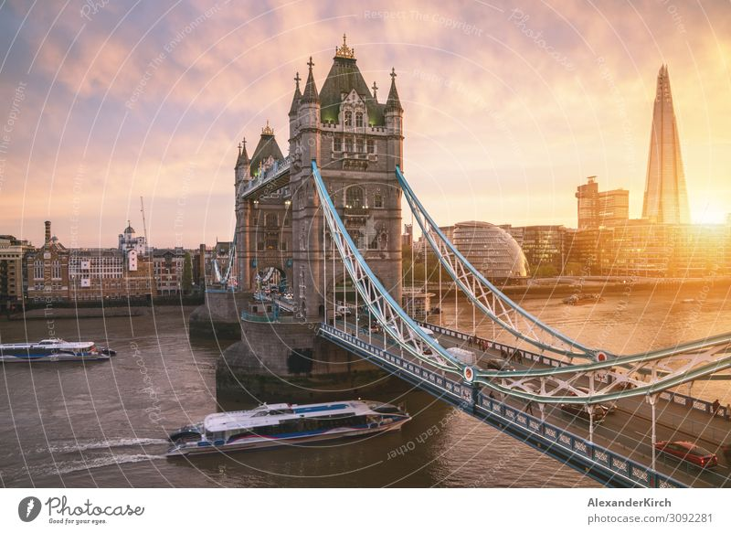 The london Tower bridge at sunrise Vacation & Travel Sightseeing Air Traffic Control Tower Beautiful Tower Bridge London City london tower architecture
