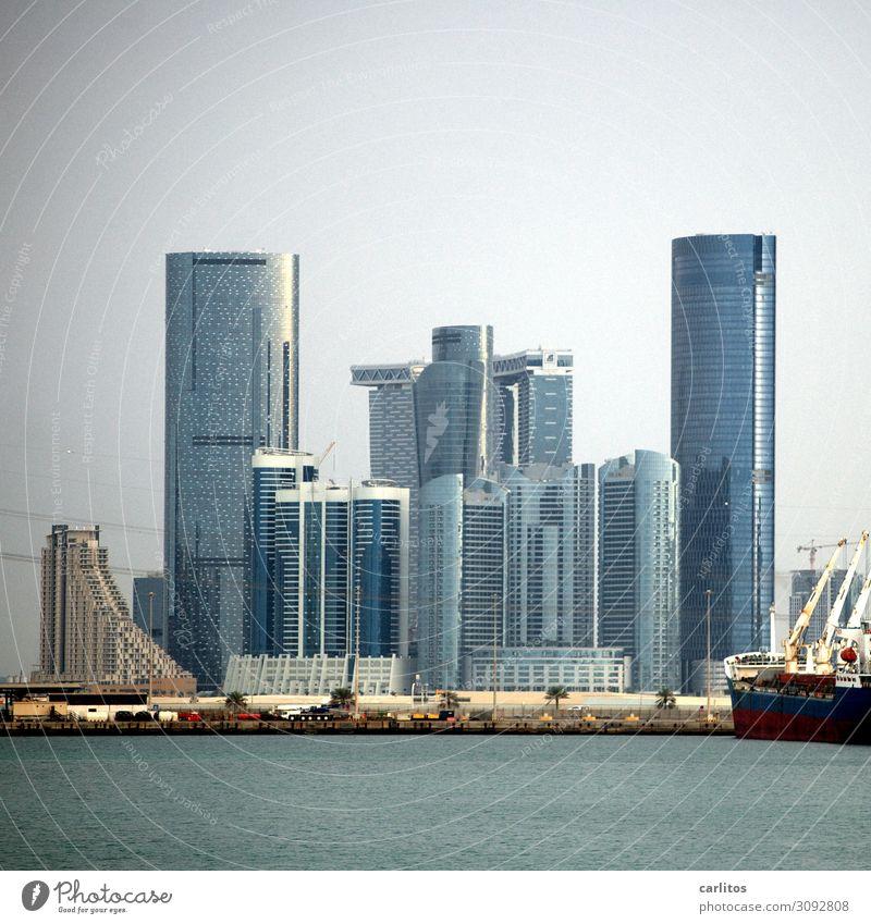 skyline Abu Dhabi Skyline High-rise United Arab Emirates construction boom Building Tourism banking crisis