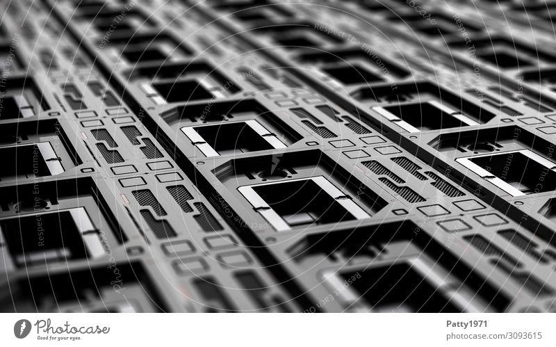 Tech Perspective 02 - 3D Render Computer Hardware Technology High-tech Industry Dark Sharp-edged Cold Clean Gray Black Design Equal Arrangement Precision