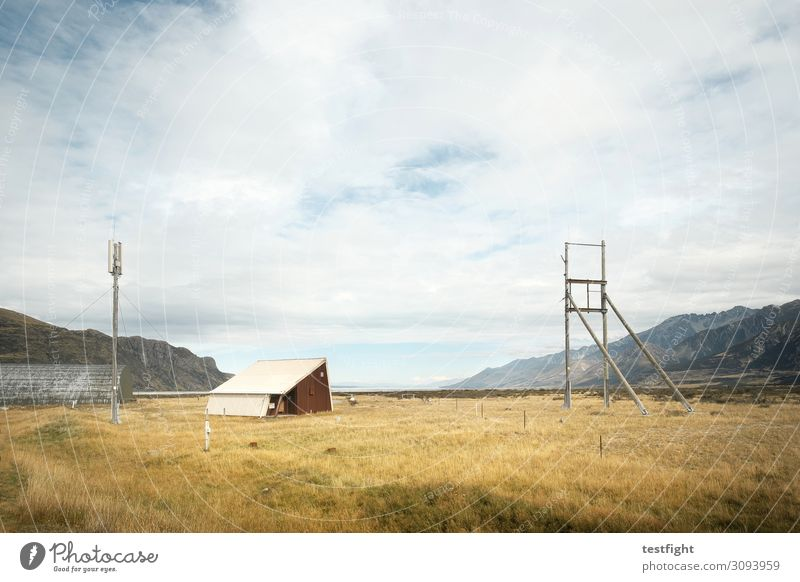 airfield Environment Nature Landscape Plant Sky Clouds Hill Mountain House (Residential Structure) Hut Manmade structures Building Architecture Airfield Wait