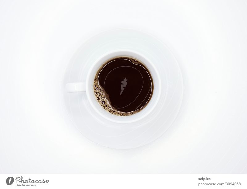 cup of coffee Beverage Drinking Coffee Kitchen Water Fluid Healthy Hot Bright Delicious Brown Black White Vice Joy Joie de vivre (Vitality) Spring fever Fatigue