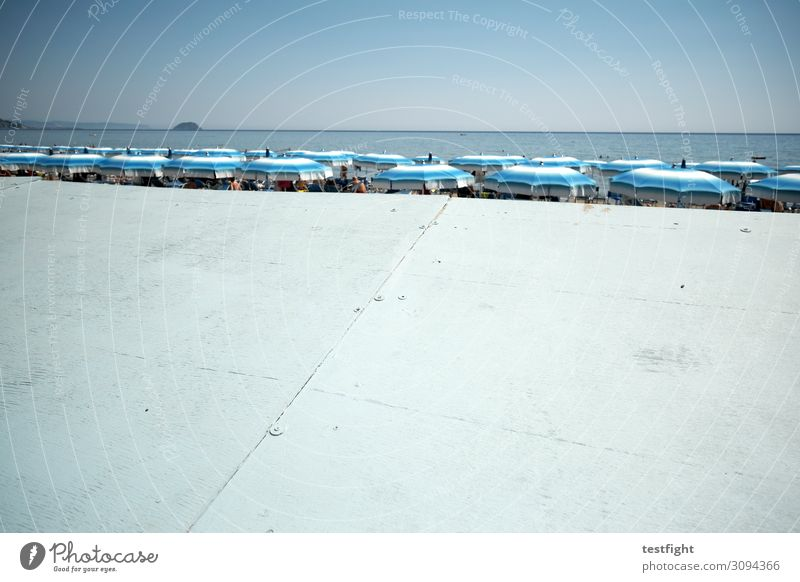 beach Coast Beach Vacation & Travel Sunshade Screening Water Ocean Exterior shot Copy Space bottom Light Shadow Sunlight